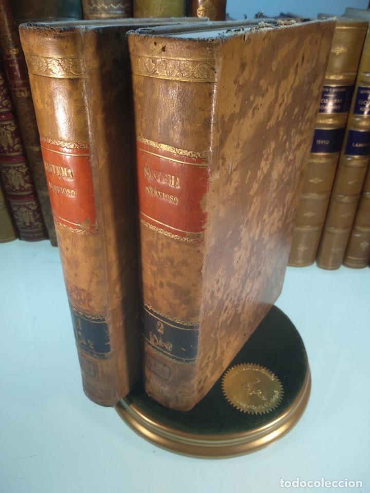 ENFERMEDADES DEL SISTEMA NERVIOSO - G. R. GOWERS - 2 TOMOS - TRADUCCIÓN DR. L. GÓNGORA - ESPASA - (Libros Antiguos, Raros y Curiosos - Ciencias, Manuales y Oficios - Medicina, Farmacia y Salud)
