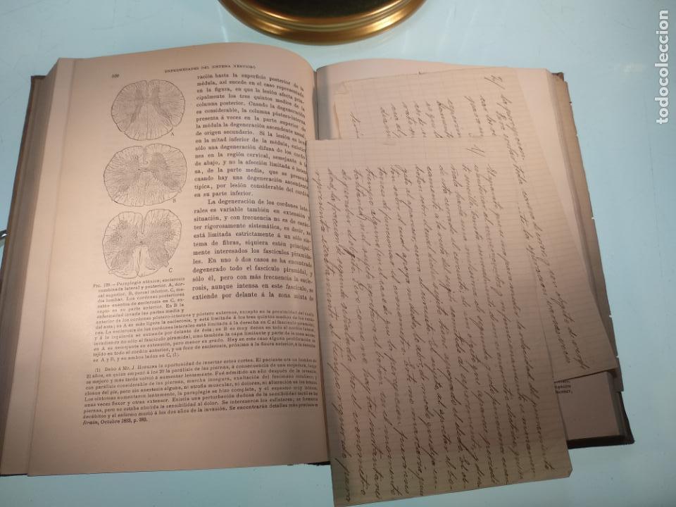 Libros antiguos: ENFERMEDADES DEL SISTEMA NERVIOSO - G. R. GOWERS - 2 TOMOS - TRADUCCIÓN DR. L. GÓNGORA - ESPASA - - Foto 10 - 141343594
