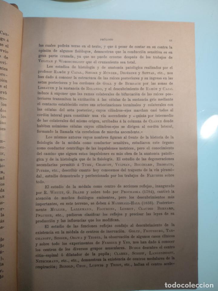 Libros antiguos: ENFERMEDADES DEL SISTEMA NERVIOSO - G. R. GOWERS - 2 TOMOS - TRADUCCIÓN DR. L. GÓNGORA - ESPASA - - Foto 4 - 141343594