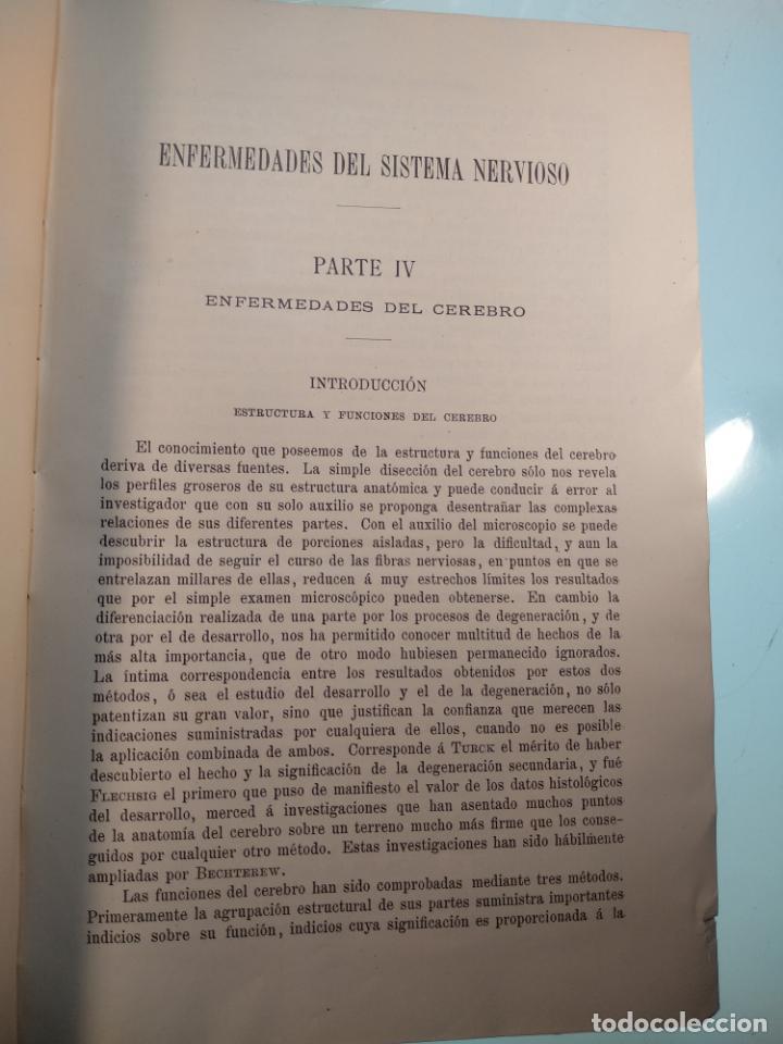 Libros antiguos: ENFERMEDADES DEL SISTEMA NERVIOSO - G. R. GOWERS - 2 TOMOS - TRADUCCIÓN DR. L. GÓNGORA - ESPASA - - Foto 17 - 141343594