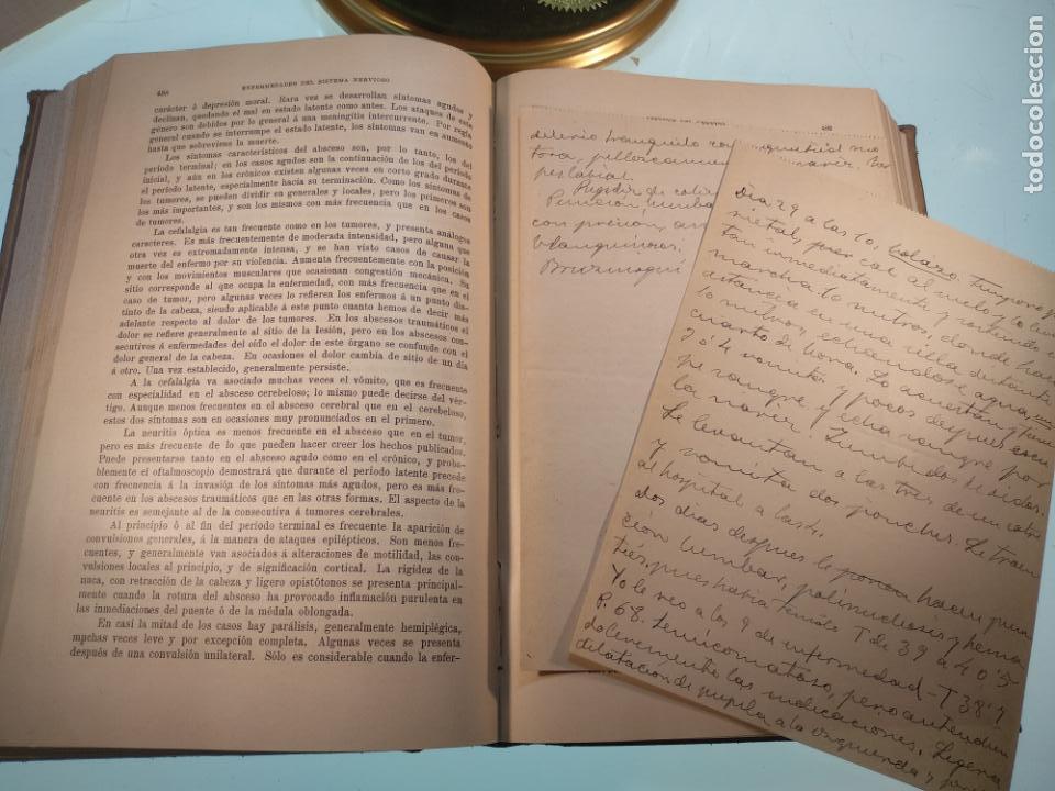 Libros antiguos: ENFERMEDADES DEL SISTEMA NERVIOSO - G. R. GOWERS - 2 TOMOS - TRADUCCIÓN DR. L. GÓNGORA - ESPASA - - Foto 21 - 141343594