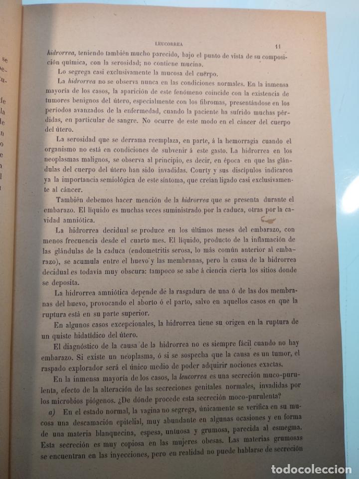 Libros antiguos: TRATADO MÉDICO-QUIRÚRGICO DE GINECOLOGÍA - DOCTORES F. LABADÍELLAGRAVE Y FÉLIX LEGUE - 270 GRABADOS - Foto 6 - 141352306