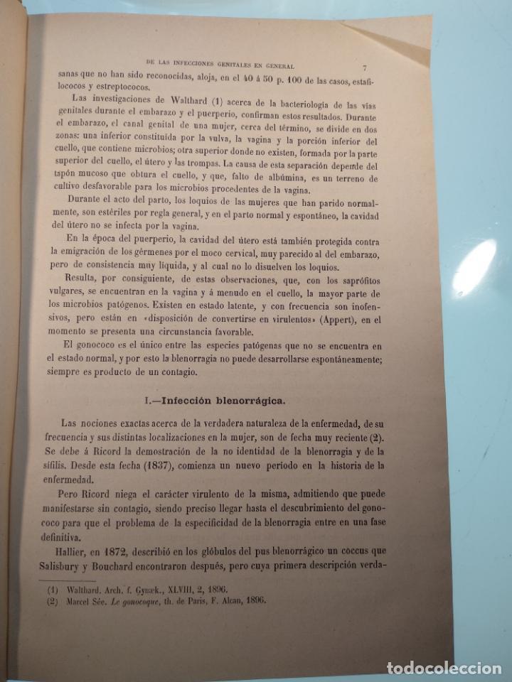 Libros antiguos: TRATADO MÉDICO-QUIRÚRGICO DE GINECOLOGÍA - DOCTORES F. LABADÍELLAGRAVE Y FÉLIX LEGUE - 270 GRABADOS - Foto 18 - 141352306