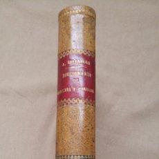 Libros antiguos: CASI NUEVO 1890 TOMOXII DEL DICCIONARIO ENCICLOPÉDICO DE MEDICINA Y CIRUGÍA PRÁCTICAS. Lote 121446131