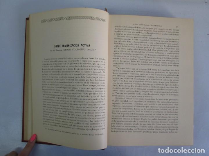 Libros antiguos: TRATADO DE SUEROTERAPIA Y DE TERAPEUTICA EXPERIMENTAL. A. WOLLF EISNER. SATURNINO CALLEJA FERNANDEZ - Foto 8 - 141898282