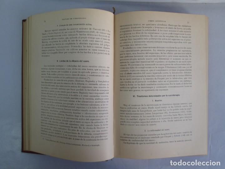 Libros antiguos: TRATADO DE SUEROTERAPIA Y DE TERAPEUTICA EXPERIMENTAL. A. WOLLF EISNER. SATURNINO CALLEJA FERNANDEZ - Foto 9 - 141898282