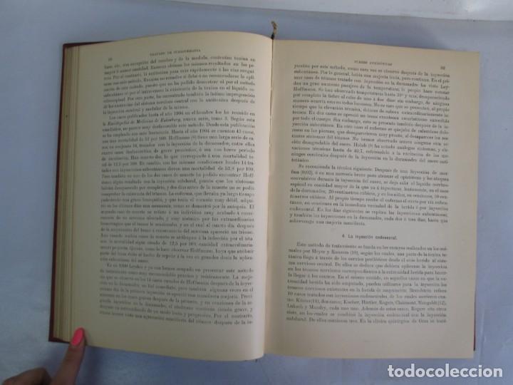 Libros antiguos: TRATADO DE SUEROTERAPIA Y DE TERAPEUTICA EXPERIMENTAL. A. WOLLF EISNER. SATURNINO CALLEJA FERNANDEZ - Foto 10 - 141898282