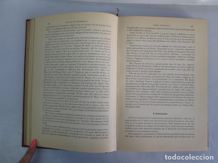 Libros antiguos: TRATADO DE SUEROTERAPIA Y DE TERAPEUTICA EXPERIMENTAL. A. WOLLF EISNER. SATURNINO CALLEJA FERNANDEZ - Foto 11 - 141898282