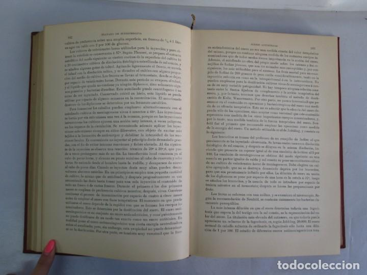 Libros antiguos: TRATADO DE SUEROTERAPIA Y DE TERAPEUTICA EXPERIMENTAL. A. WOLLF EISNER. SATURNINO CALLEJA FERNANDEZ - Foto 12 - 141898282
