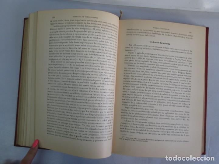 Libros antiguos: TRATADO DE SUEROTERAPIA Y DE TERAPEUTICA EXPERIMENTAL. A. WOLLF EISNER. SATURNINO CALLEJA FERNANDEZ - Foto 13 - 141898282