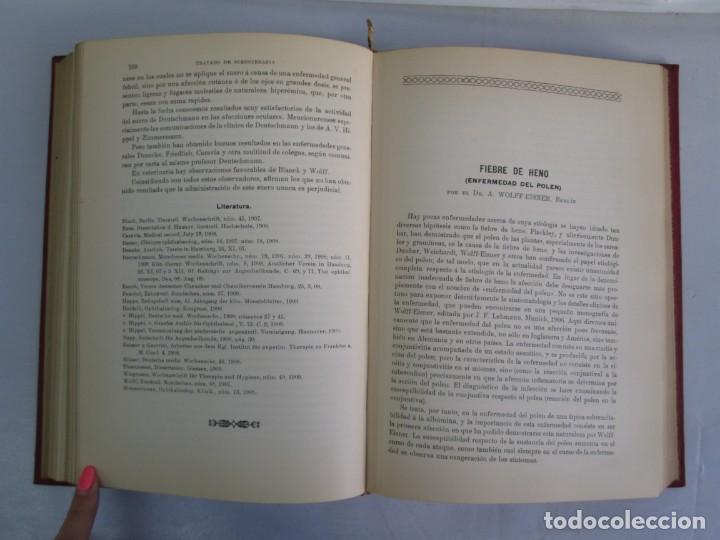 Libros antiguos: TRATADO DE SUEROTERAPIA Y DE TERAPEUTICA EXPERIMENTAL. A. WOLLF EISNER. SATURNINO CALLEJA FERNANDEZ - Foto 15 - 141898282