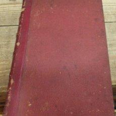 Libros antiguos: HOMEOPATIA, SOCIEDAD HAHNEMANNIANA MATRITENSE,1871, EL CRITERIO MEDICO,12 REVISTAS EN UN TOMO, RARIS. Lote 142197062