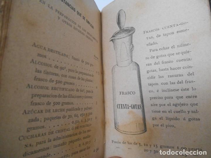 Libros antiguos: LA SALUD. MANUAL DE HOMEOPATIA - 1887 - Farmacia Homeopática - Foto 11 - 142296378