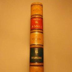 Libros antiguos: ESTUDIO MEDICO-LEGAL SOBRE EL ABORTO Y SOBRE EL INFANTICIDIO. AMBROSIO TARDIEU. 1882 Y 1883. Lote 142354354