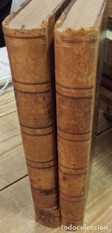 HOMEOPATIA, SAMUEL HAHNEMANN, 1834, TRAITE DE MATIERE MEDICALE OU DE L'ACTION PURE DES MEDICAMENTS H (Libros Antiguos, Raros y Curiosos - Ciencias, Manuales y Oficios - Medicina, Farmacia y Salud)