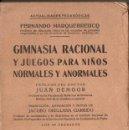 Libros antiguos: FERNANDO MARQUEBREUCQ : GIMNASIA RACIONAL Y JUEGOS PARA NIÑOS NORMALES Y ANORMALES (BELTRAN, 1923). Lote 142592098