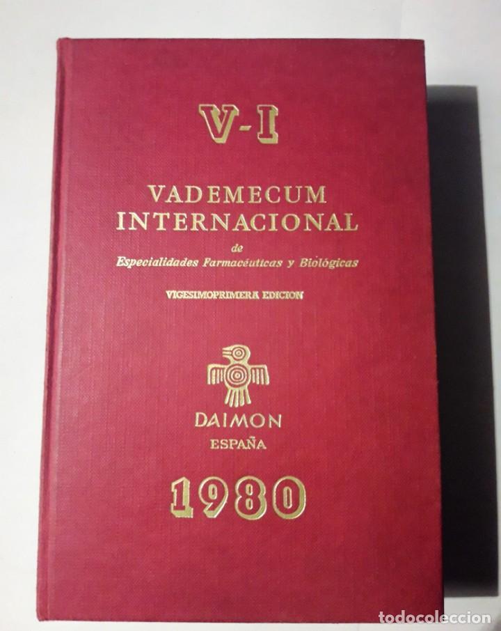 VADEMECUM 1980 (Libros Antiguos, Raros y Curiosos - Ciencias, Manuales y Oficios - Medicina, Farmacia y Salud)