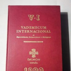 Libros antiguos: VADEMECUM 1980. Lote 143108290