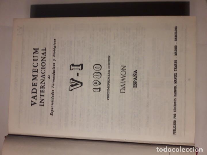 Libros antiguos: VADEMECUM 1980 - Foto 3 - 143108290