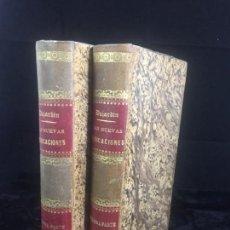 Libros antiguos: LAS NUEVAS MEDICACIONES (2 VOLÚMENES) DUJARDIN-BEAUMETZ. 1892 PLENA PIEL BUEN ESTADO. Lote 143573998