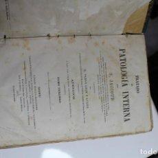Libros antiguos: TRATADO DE PATOLOGIA INTERNA POR S. JACCOUD 1877. Lote 143618802