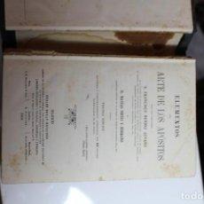Libros antiguos: ELEMENTOS DEL ARTE DE LOS APOSITOS POR MATIAS NIETO Y FRANCISCO MENDEZ ALVARO 1869. Lote 143631982
