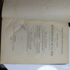 Libros antiguos: LECCIONES CLINICAS SOBRE LAS ENFERMEDADES DE LA PIEL POR E. GUIBOUT 1878. Lote 143632282