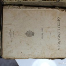 Libros antiguos: FARMACOPEA OFICIAL ESPAÑOLA 1884. Lote 143632870