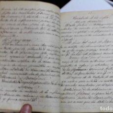 Libros antiguos: APUNTES DE PATOLOGIA QUIRURGICA 1880 - 1900 APROX. Lote 143634182