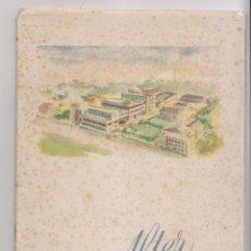 Libros antiguos: ALTER S.A. LABORATORIOS QUÍMICO-FARMACÉUTICOS. MEMORIA SOCIAL 1953. Lote 143655670