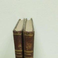Libros antiguos: J10- TRATADO COMPLETO DE LAS ENFERMEDADES DE LAS MUJERES M FABRE 1845 2 TOMOS 17X26 CMS. Lote 143821890