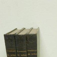 Libros antiguos: J10- TRATADO COMPLETO ENFERMEDADES DE NIÑOS SCHNITZER 3 TOMOS AÑO 1845 -1846 DIFICILES DE CONSEGUIR!. Lote 143822434