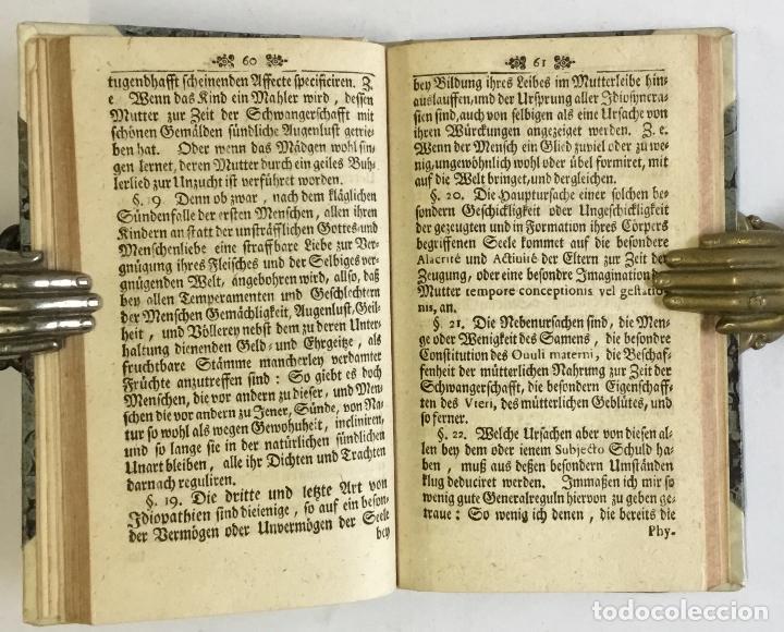 Libros antiguos: WARHAFFTIGER TEMPERAMENTIST, oder Unbetrügliche Kunst der Menschen Gemüther nach ihren natürliche... - Foto 3 - 142425808