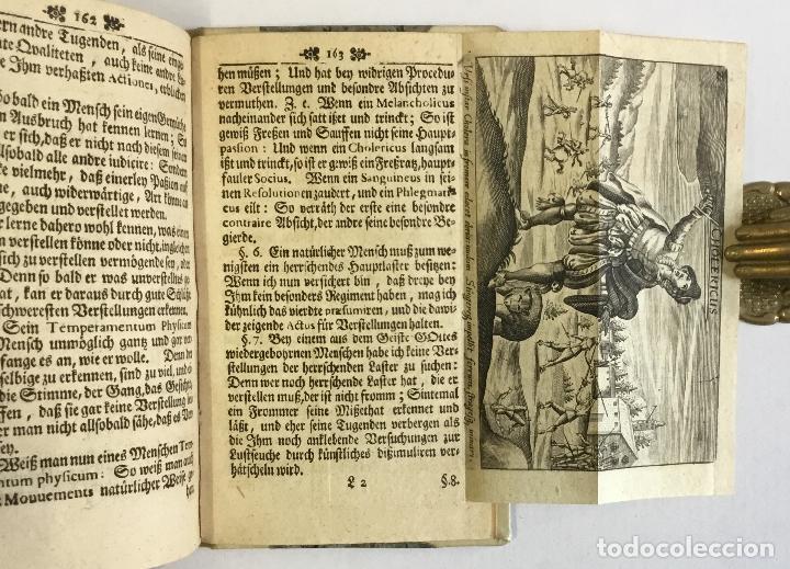 Libros antiguos: WARHAFFTIGER TEMPERAMENTIST, oder Unbetrügliche Kunst der Menschen Gemüther nach ihren natürliche... - Foto 4 - 142425808