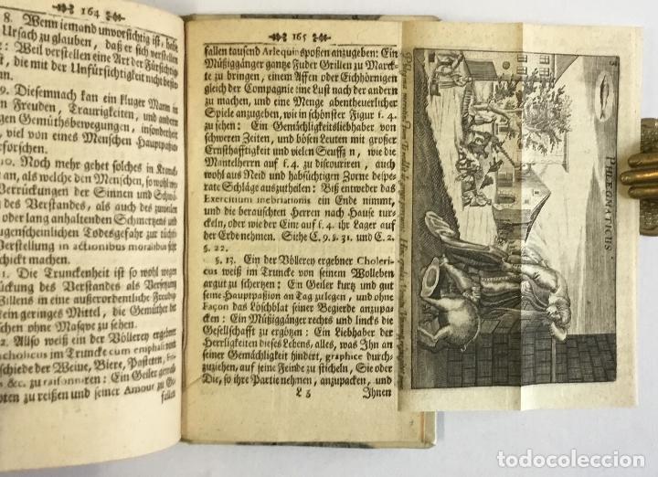 Libros antiguos: WARHAFFTIGER TEMPERAMENTIST, oder Unbetrügliche Kunst der Menschen Gemüther nach ihren natürliche... - Foto 6 - 142425808