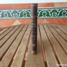 Libros antiguos: LIBRO COMPENDIO DEL SEGUNDO CURSO ANATOMIA HUMANA JULIAN CALLEJA SANCHEZ VALLADOLID 1872. Lote 144239550