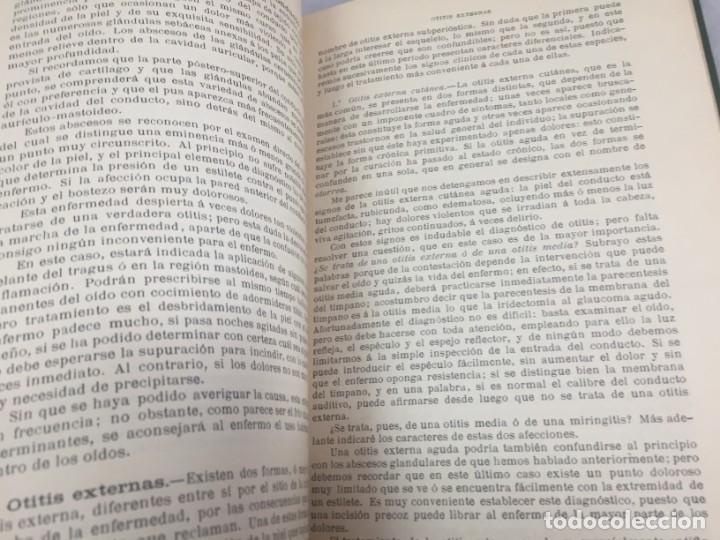 Libros antiguos: Cirugia Clínica Tratado 1895 p. Tillaux dos tomos media piel buen estado - Foto 9 - 221568770