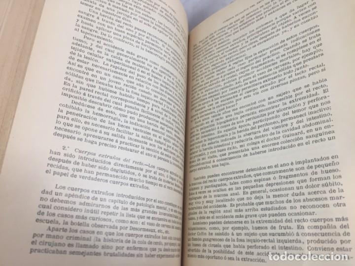 Libros antiguos: Cirugia Clínica Tratado 1895 p. Tillaux dos tomos media piel buen estado - Foto 15 - 221568770