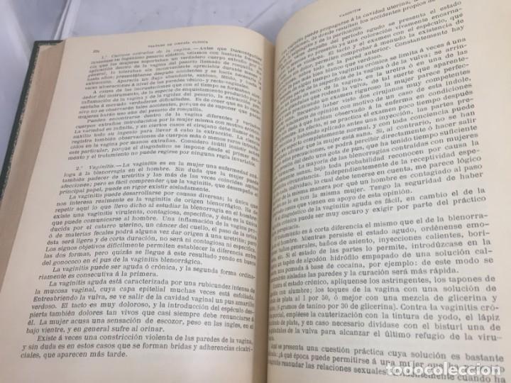 Libros antiguos: Cirugia Clínica Tratado 1895 p. Tillaux dos tomos media piel buen estado - Foto 17 - 221568770