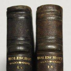 Libros antiguos: LA CIRCULATION DE LA VIE. LETTRES SUR LA PHYSIOLOGIE EN RÉPONSE AUX LETTRES SUR LA CHIMIE, DE LIEBIG. Lote 145671720