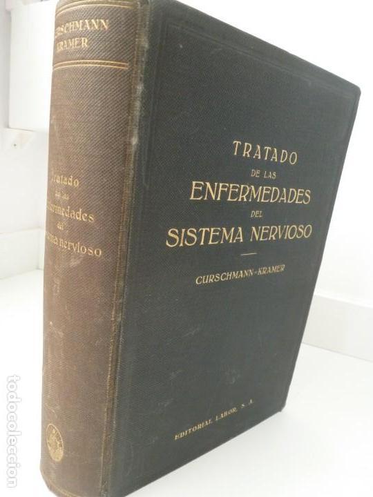 TRATADO DE LAS ENFERMEDADES DEL SISTEMA NERVIOSO. CURSCHMANN. KRAMER. EDITORIAL LABOR 1932 (Libros Antiguos, Raros y Curiosos - Ciencias, Manuales y Oficios - Medicina, Farmacia y Salud)