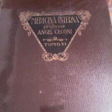 Libros antiguos: MEDICINA INTERNA. Lote 146074818