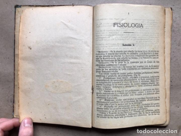 Libros antiguos: EXPLICACIÓN DEL PROGRAMA DE FISIOLOGÍA DE CESÁREO MARTÍNEZ. LA EDITORIAL ASTURIANA. - Foto 2 - 146091794