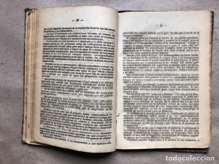 Libros antiguos: EXPLICACIÓN DEL PROGRAMA DE FISIOLOGÍA DE CESÁREO MARTÍNEZ. LA EDITORIAL ASTURIANA. - Foto 5 - 146091794