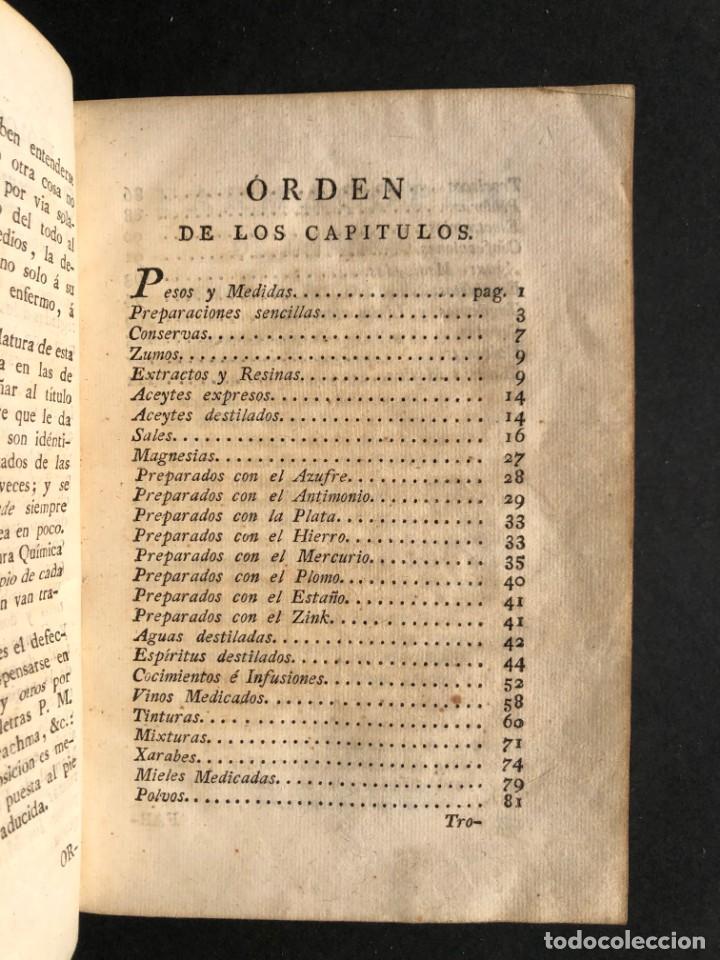 Libros antiguos: 1797 La nueva farmacopea del Real Colegio de Medicos de Londres - Medicina - Farmacia - White, Rober - Foto 5 - 146484070
