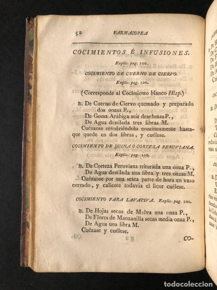 Libros antiguos: 1797 La nueva farmacopea del Real Colegio de Medicos de Londres - Medicina - Farmacia - White, Rober - Foto 11 - 146484070