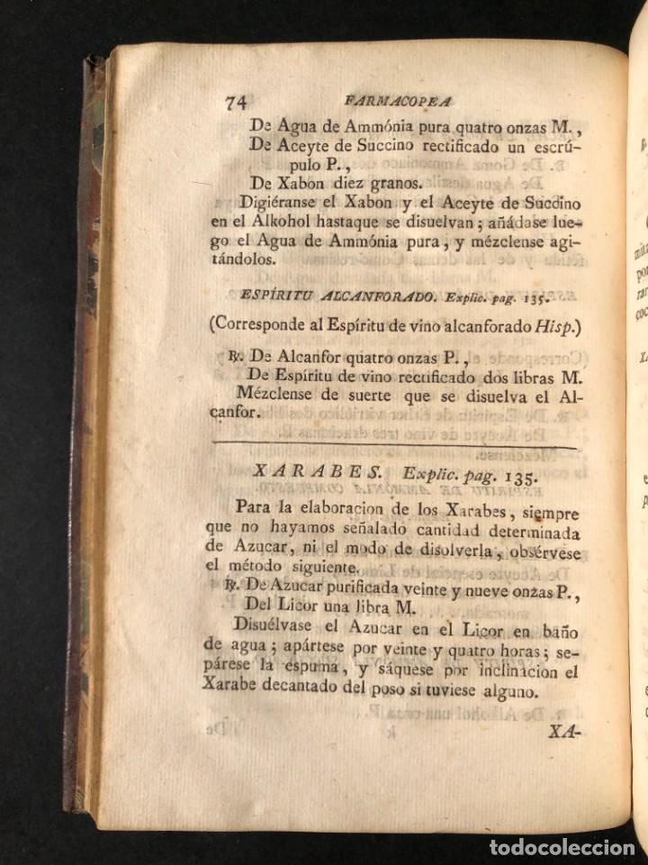 Libros antiguos: 1797 La nueva farmacopea del Real Colegio de Medicos de Londres - Medicina - Farmacia - White, Rober - Foto 12 - 146484070