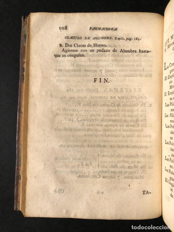 Libros antiguos: 1797 La nueva farmacopea del Real Colegio de Medicos de Londres - Medicina - Farmacia - White, Rober - Foto 18 - 146484070
