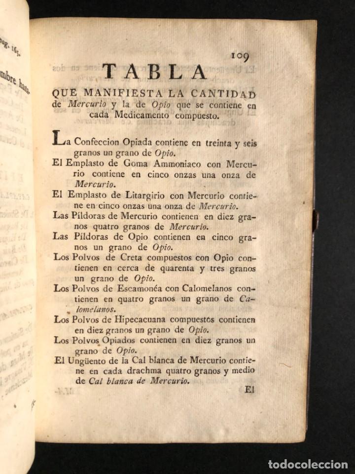 Libros antiguos: 1797 La nueva farmacopea del Real Colegio de Medicos de Londres - Medicina - Farmacia - White, Rober - Foto 19 - 146484070