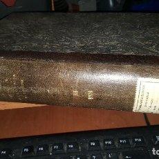 Libros antiguos: ANALES REAL ACADEMIA MEDICINA, NECROLOGICA DE S. RAMON Y CAJAL, INTRESANTES CONFERENCIAS, FARMACOPEA. Lote 146594222